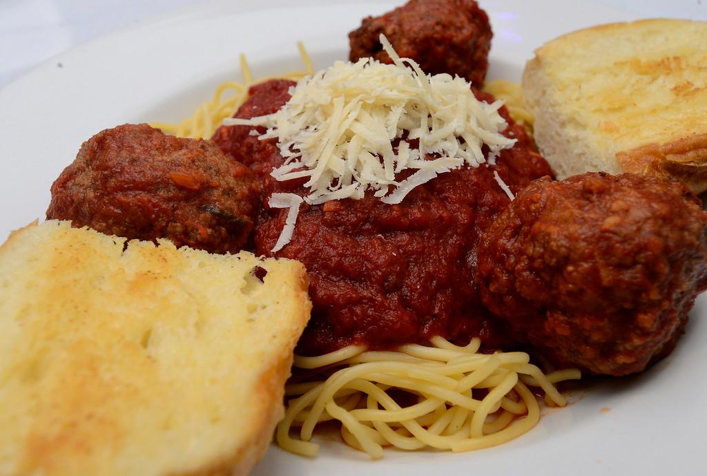 . Uncle Pat\'s Spaghetti and Meatballs at Dannik�s Gunbarrel Corner Bar. For more photos go to dailycamera.com  Paul Aiken Staff Photographer Nov 28, 2017