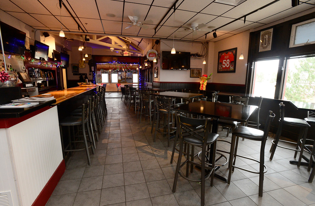 . Views of the bar and dinning room area at Dannik�s Gunbarrel Corner Bar. For more photos go to dailycamera.com  Paul Aiken Staff Photographer Nov 28, 2017