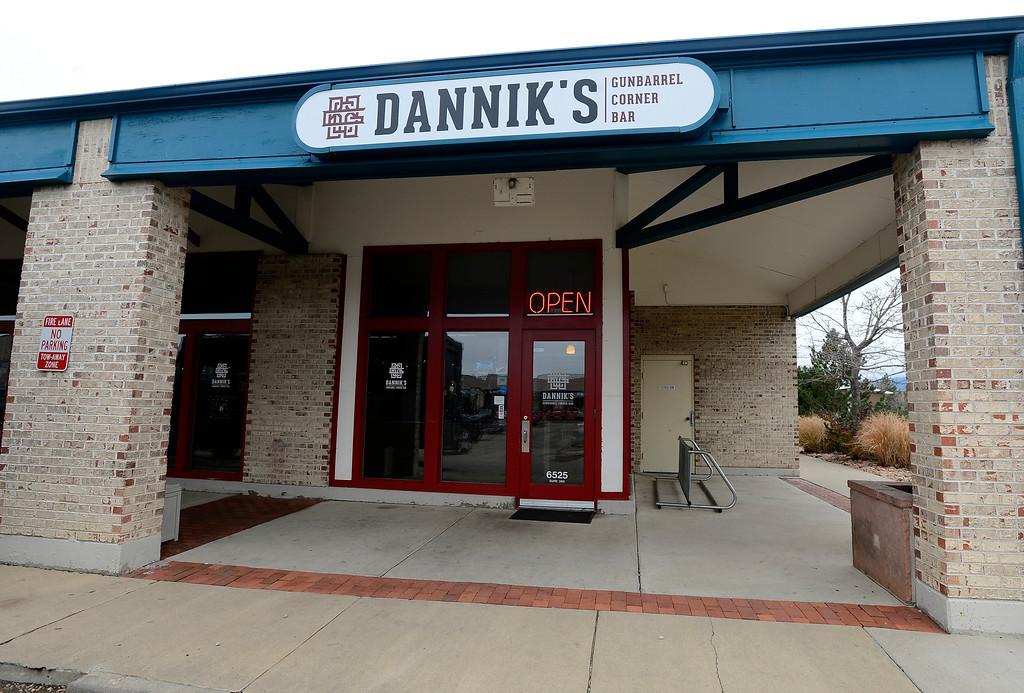 . Dannik�s Gunbarrel Corner Bar. For more photos go to dailycamera.com  Paul Aiken Staff Photographer Nov 28, 2017
