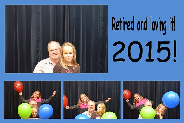 Photo Booth - Retirement party 01-24-2015