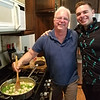 Restaurateur Ron with Sous Chef - Ryan