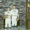 Danny & David, St Anne's Baseball, Memphis, TN -  1970