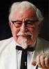 Colonel Harland Sanders with Diamond Tie Pin