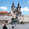 Prague in the sunshine