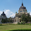 The Baths in the Park in Budapest