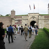 entering the fortress, Kalemendon, in Belgrade