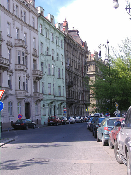 Hotel in Prague (green)
