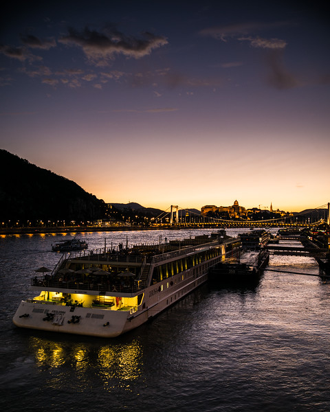 Arosa boat on the Danube