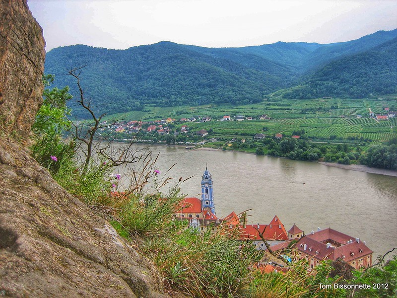 Danube River Countryside.
