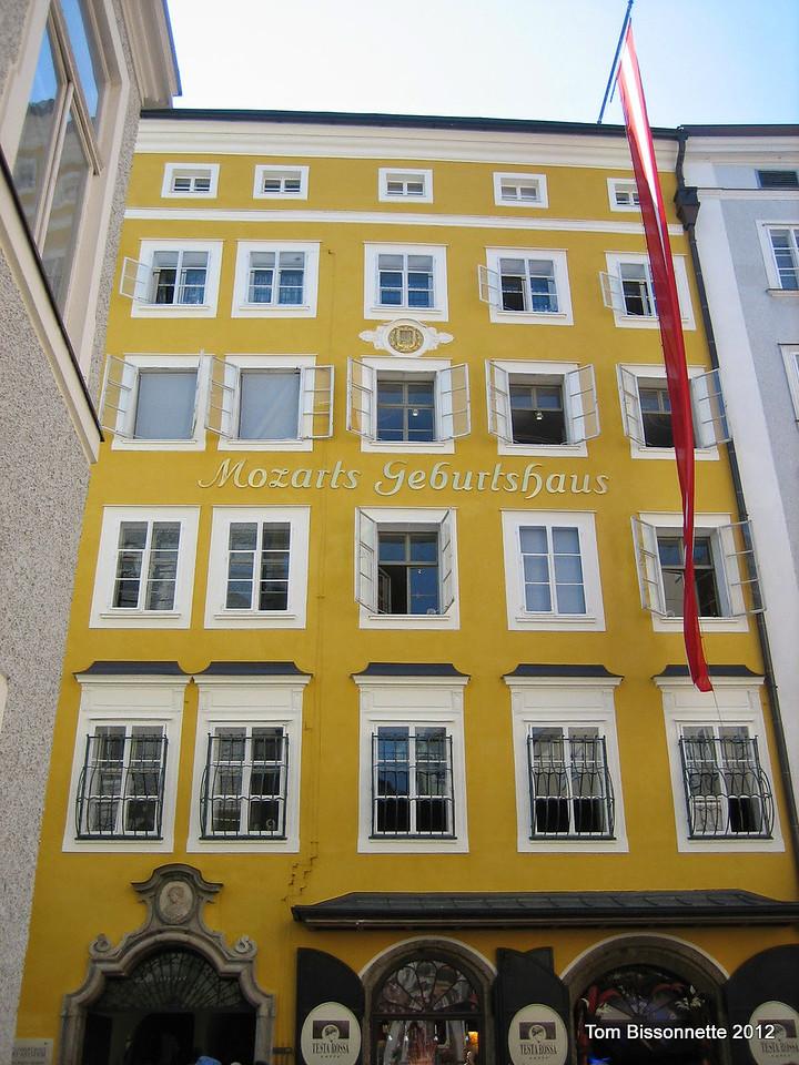 Mozart's Home