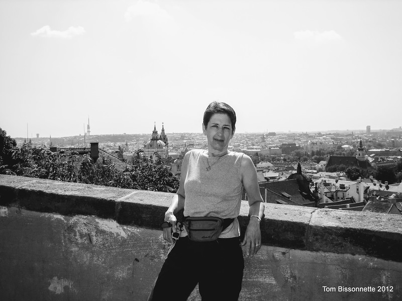Bette in Prague