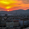 Vienna Austria Sunset