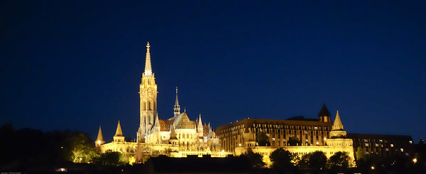 Matthias cathedral atop castle hill