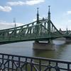 Originally the Franz Joseph bridge, this bridge was renamed the Liberty bridge after WW II.
