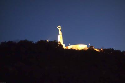 Originally a soviet era monument.