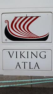 Our ship, the Viking Atla