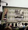 Advertisement, Cultural Center, Bratislava, Slovakia