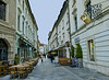 Restaurants, Historic District, Bratislava, Slovakia
