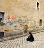 Vicky, In the Street, Bratislava, Slovakia