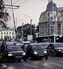 Cars, Corner, Bucharest, Romania