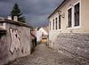 Cobblestones, School, St. Andre, Hungary