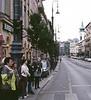 Pedestrians, xxx Street, Budapest, Hungary (Bronica 645)