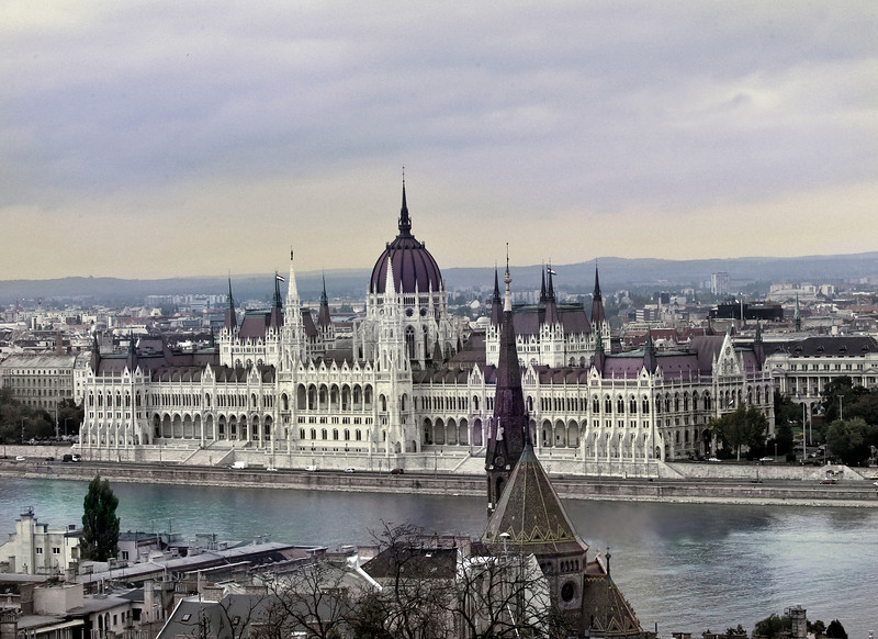 Parliament, Edge of the Danube, Budapest, Hungary