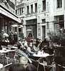 Cafe, xxx Street, Budapest, Hungary (Bronica 645)