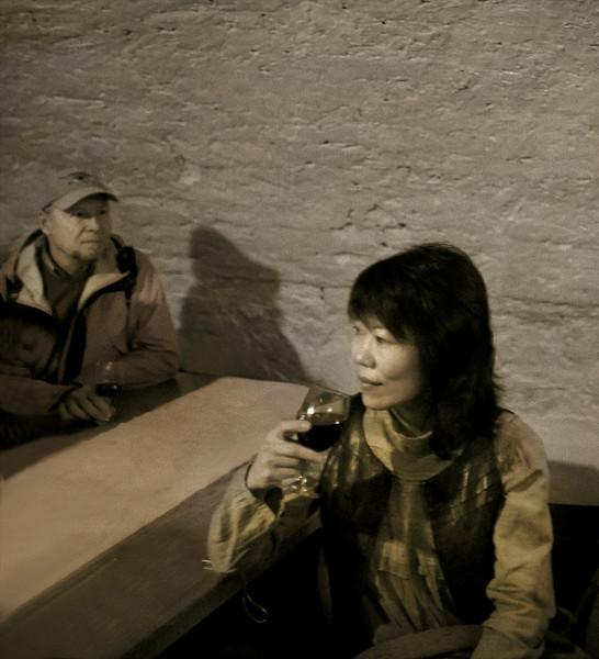 Vicky, Wine Cellar, Pecs, Hungary