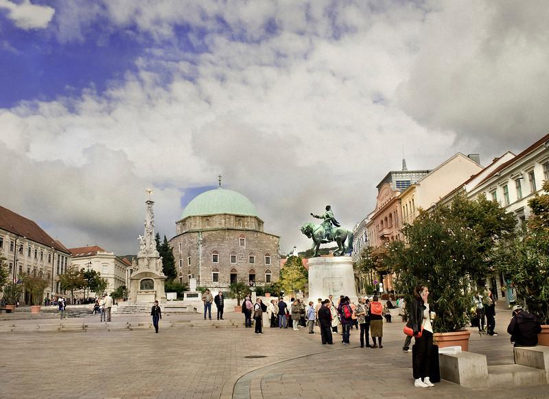 Main Plaza, II, Pecs, Hungary