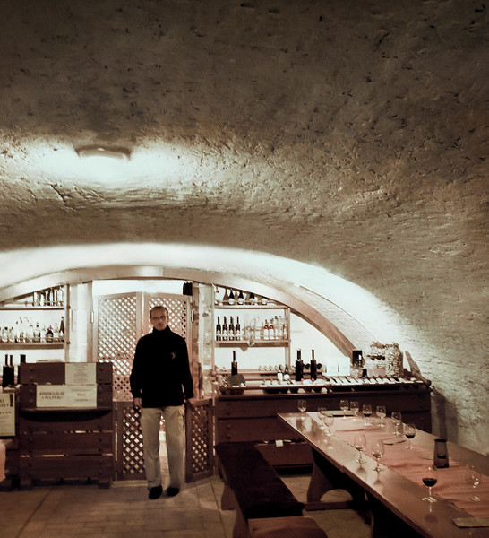 Bartender, Winery, Pecs, Hungary