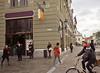 Traffic, I, Kossuth Corner, Pecs, Hungary