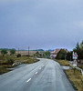 Rain, Empty Road, near Pecs, Hungary
