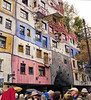 Apartment, II, Friedenreich Hundertwasser, Vienna, Austria