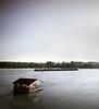 Cargo Boat, Danube River,Vukovar, Croatia