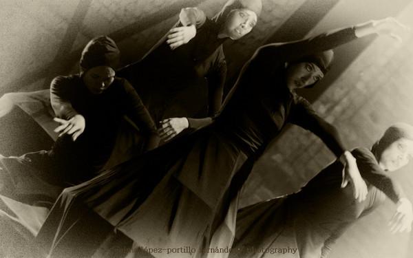 Los cinco misterios III - de Rituales / Compañía Danza Contemporánea de Rafael Carlín  <br /> - Lizbeth Almanza, Anahí Bañuelos, Grael López, Cynthia Sepúlveda, bailarinas de Compañía de Danza Contemporánea de Rafael Carlín