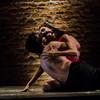 Tríptico Rostros Silenciados (1 de 2) - de Rituales / Compañía Danza Contemporánea de Rafael Carlín  <br /> - Anahí Bañuelos, Frank Esqueda, bailarines