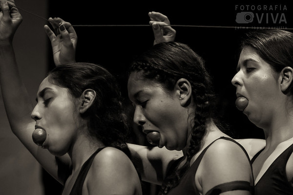 Oximorón - Danza - Light Pinting - Body Painting