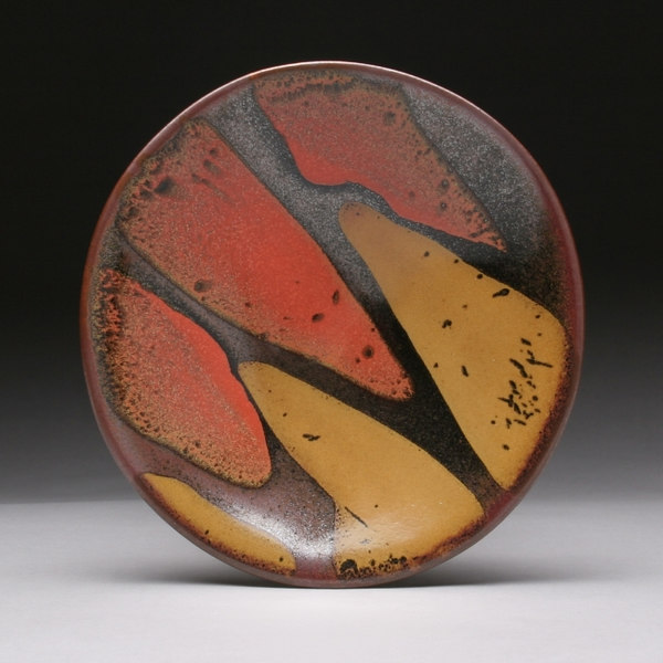 """Boundaries Platter<br /> Daphne's platters are available in four sizes:  7-8"""", 11-12"""", 15"""" and 18-20""""."""
