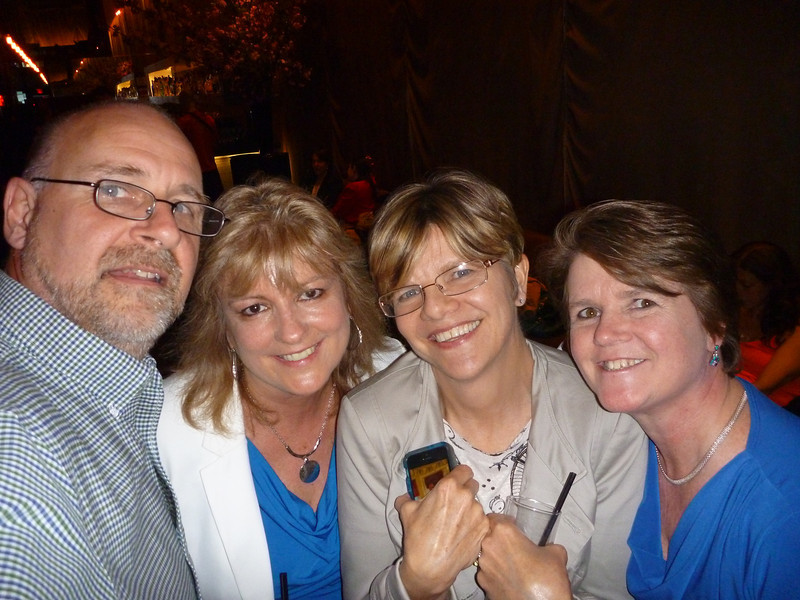 Me, Kathy, Polly, Eileen