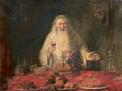 19th c. Father Christmas