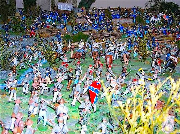 Alexander's toy soldier collection