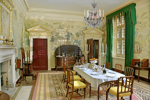 breakfast room at Darcy House