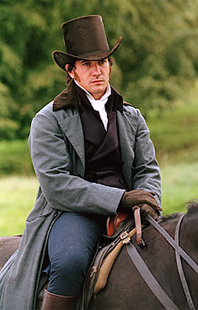 Mr. Darcy mounted