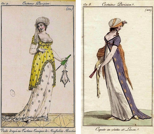 Fashion plates that inspired