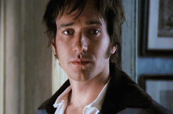 Mr. Darcy, so deeply in love