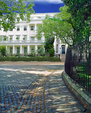 Grosvenor Square street