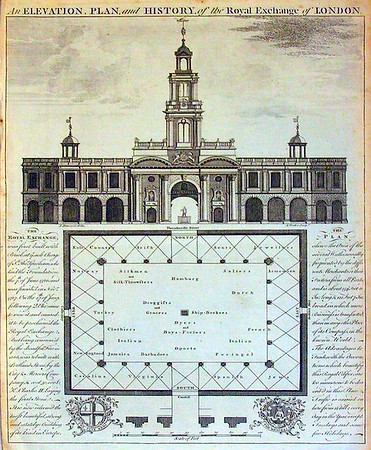 Royal Exchange in 1786