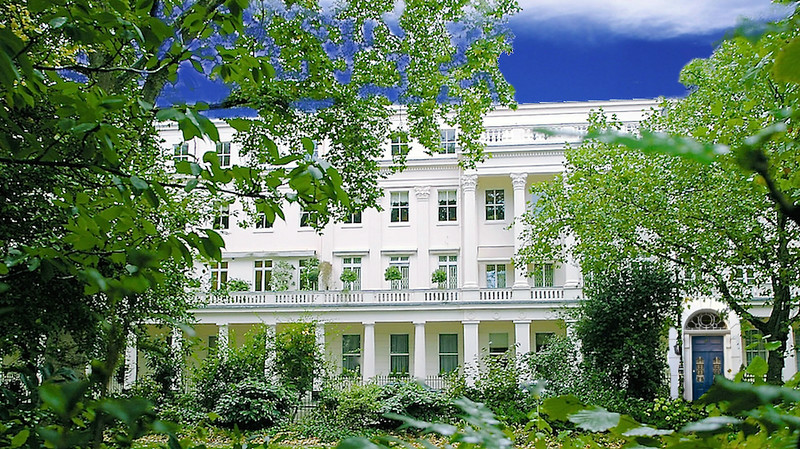 Darcy House on Grosvenor Square, London