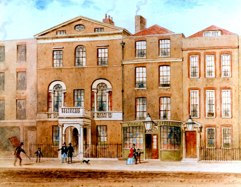 York's Coffee House near Green Park, London